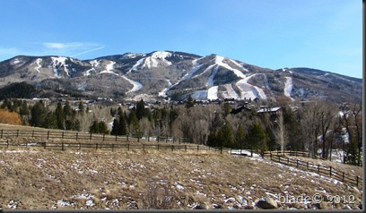 Steamboat ski slopes-no snow