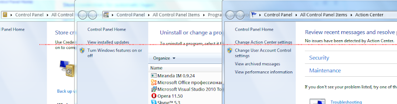 Windows Control Panel 2