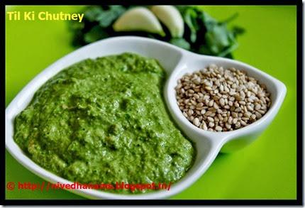 Uttaranchal - til ki chutney