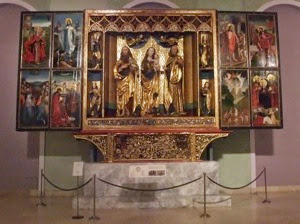 Main altar of Kisszeben c1500