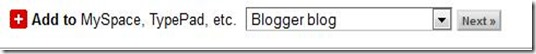 choose blogger