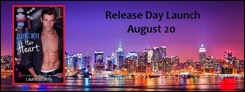 Playing With Her Heart Release Day Launch