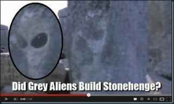 alienigena grey de Stonehenge