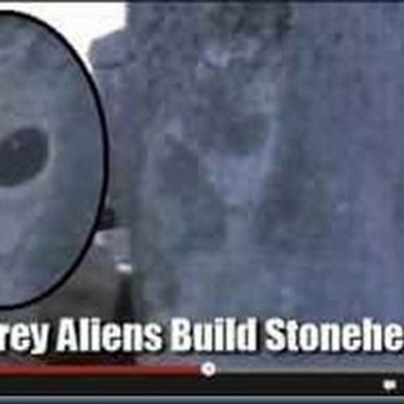 O alienígena grey de Stonehenge