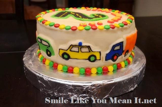 Car Cake Side 2