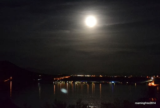 Full Moon over the lake