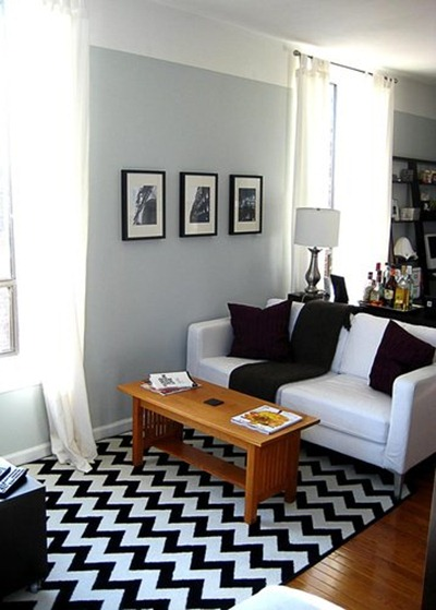 Grå interiör, Apartment Therapy