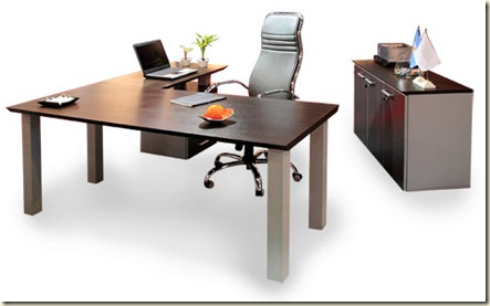 Escritorios de oficinas modernos decoraci n de for Escritorios de oficina modernos