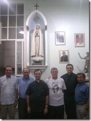 Padres do Santuário de Fátima recebem a visita canônica