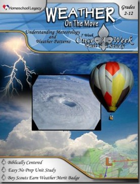 Weather on the Move Homeschool Legacy