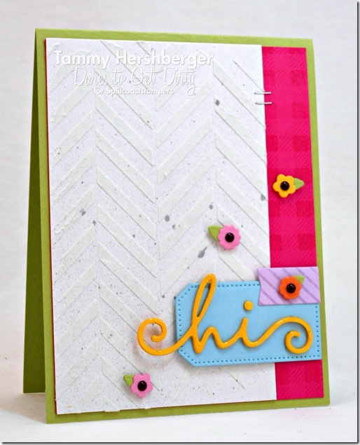 Enameled Hi by Tammy Hershberger for Dare to Get Dirty