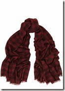 Isabel Marant Plaid Checked Cashmere Scarf