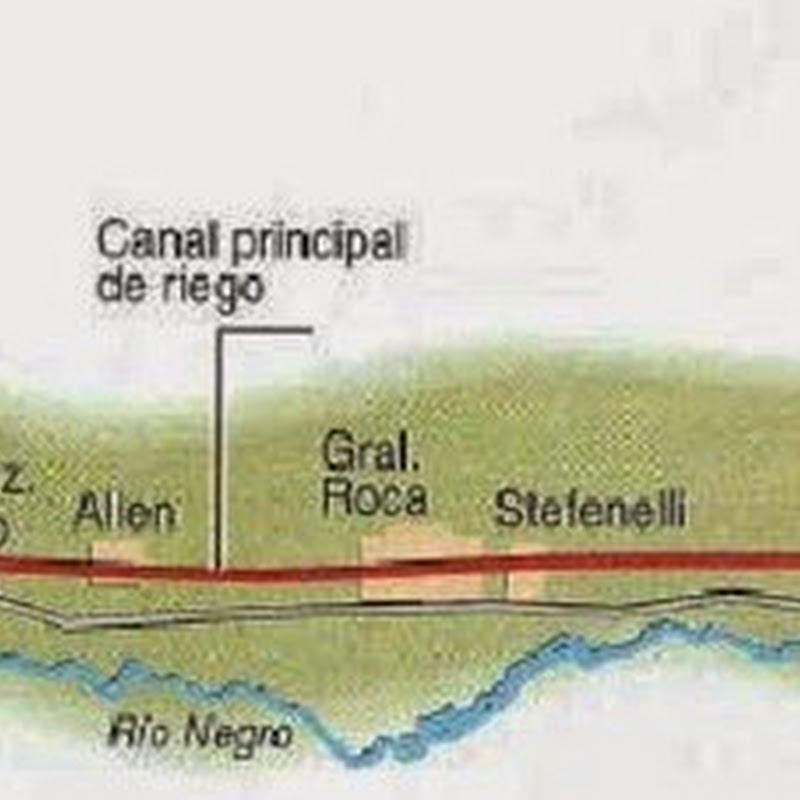 La Ruta de la Manzana en el Valle del Rio Negro.