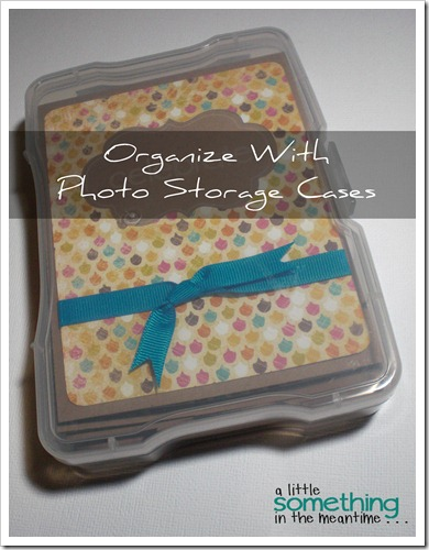 Organize With Photo Storage Cases Project Gallery