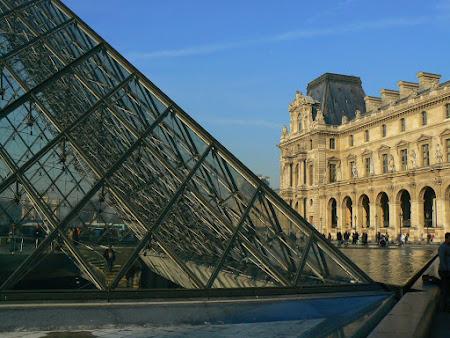Obiective turistice Franta - Luvru Paris