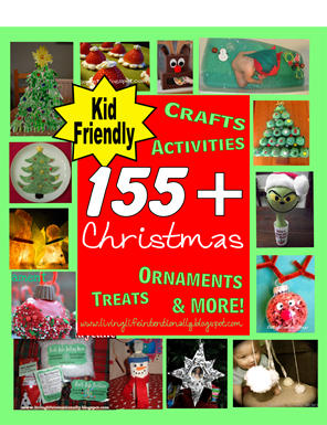 155 Christmas Crafts for Kids and Kids Activities #preschool #christmas #kidsactivities