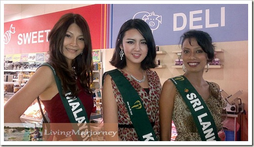 Miss Malaysia, Korea and Sri Lanka