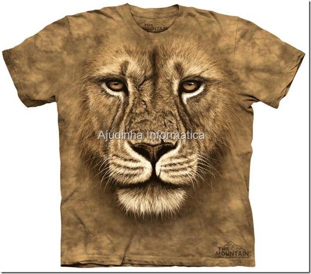 camiseta leao