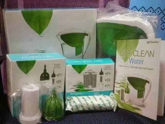 Get clean water shaklee