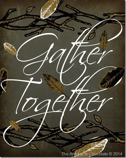 Gather Together Scriptura