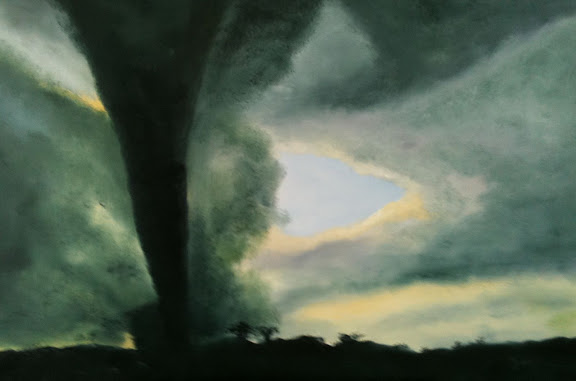 Twister 2011 24 x 36 from a photo by Carsten Peter for the New York Times