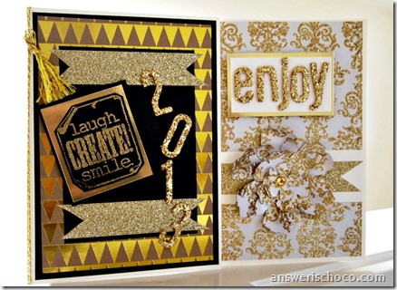 American Crafts Gold Cards