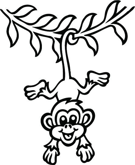 Dibujos Para Colorear Monos on Dibujos Para Colorear De Navidad