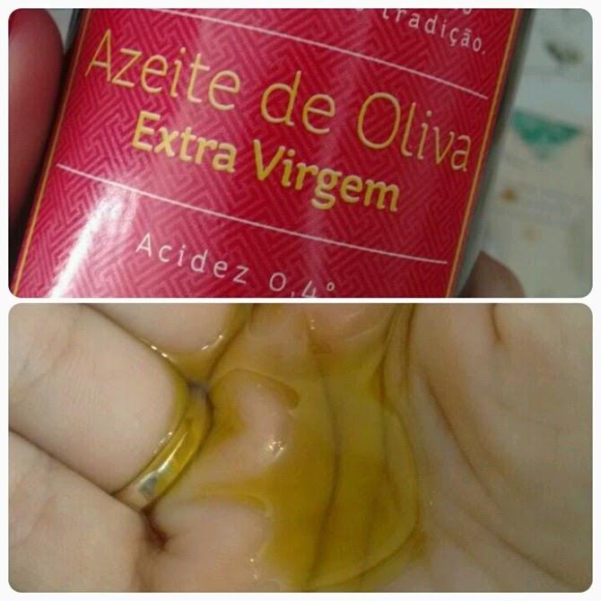 tratamento com óleo puro