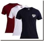 Myntra:Buy Pack Of 6 Fort Collins, Hanes, Roadster, Status Quo T-Shirts Starting at Rs. 891 with Free Shipping
