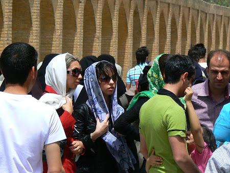 Woman fashion in Iran