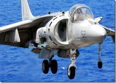 AV-8B-Harrier-Landing