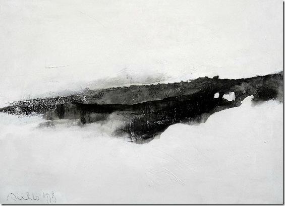 Landscape on white 2-Sergio-Aiello-ENKAUSTIKOS