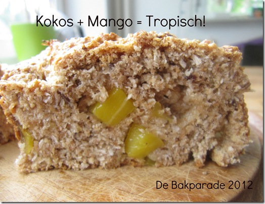 Tropisch Kokos Mango Brood