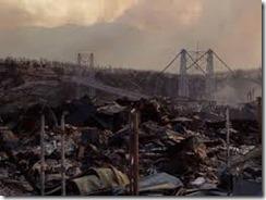 bridge after fire