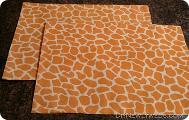 giraffe-placemats