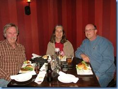7502 Ohio, Cincinnati - Best Western Premier Mariemont Inn - Denny Gibson, Karen & Bill in hotel restaurant