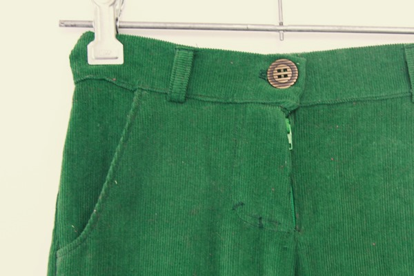 Green Corduroy Pants (2)