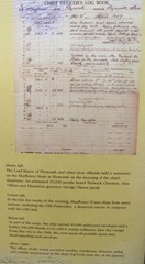 Plymouth Mayflower 8.13 2 chief officers log
