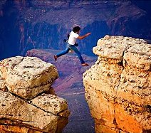 Grand canyon leap