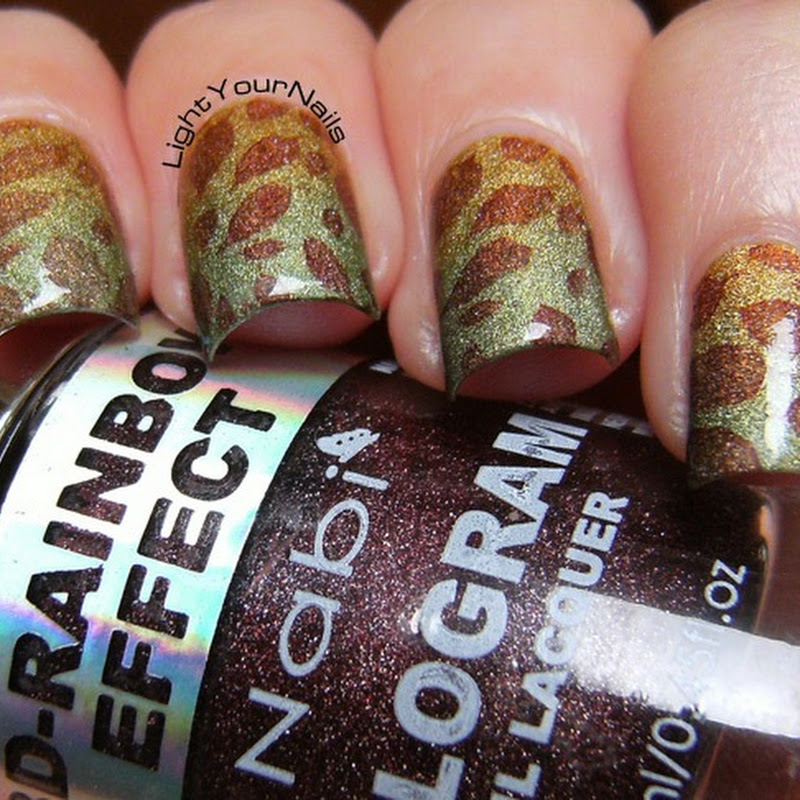 Fall(ing) leaves stamping #1