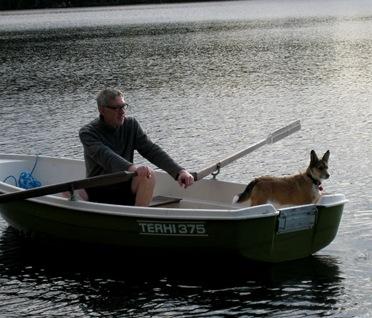 Stawros i båten