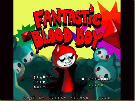 Fantastic Blood Boyタイトル