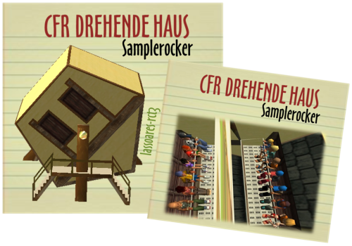Drehende Haus (Samplerocker) lassoares-rct3