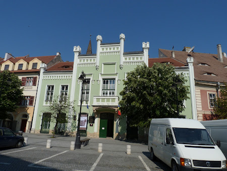Historical city of Transylvania: The Small Square of Hermanstadt