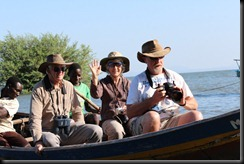 October 17, 2012 Lake Victoria boating