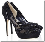 Jimmy Choo Crystal Mesh Shoe