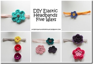 DIY elastic headbands 5 ways