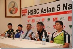 Top table guests L to R Timur Mashurov (KAZ), Chang Wei-cheng (TPE), Asanga Seviratne (SLRFU Pres), Ravin duPlessis (SRI), Tanyavit Kuasing (THA)
