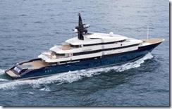 スピルバーグのヨット