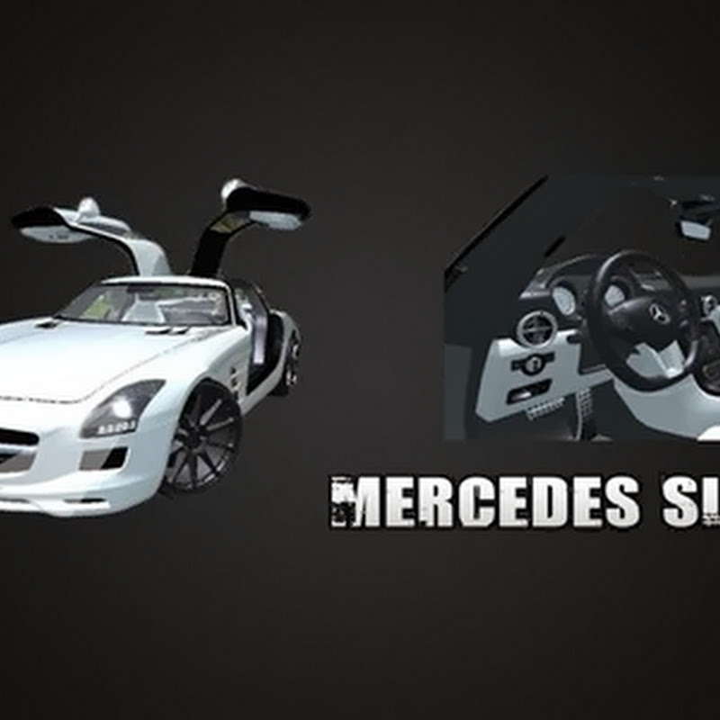 Farming simulator 2013 - Mercedes SLS AMG v 2.0 MR